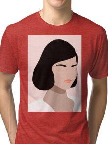 Ceres, a minimal portrait Tri-blend T-Shirt