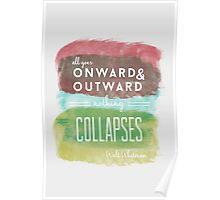 Onward and Outward Poster