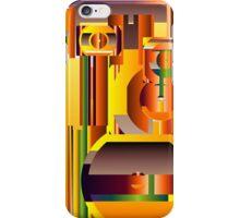 Alien Civilization Continues iPhone Case/Skin