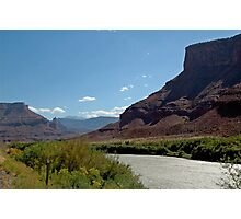 Road to Moab Photographic Print
