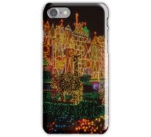 Small World Christmas Long Exposure iPhone Case/Skin