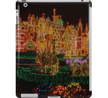 Small World Christmas Long Exposure iPad Case/Skin