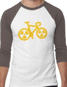 Radioactive Bicycle Men's Baseball ¾ T-Shirt