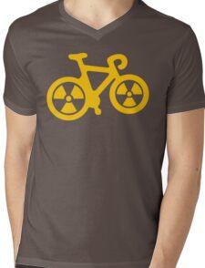 Radioactive Bicycle Mens V-Neck T-Shirt