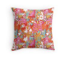 BEEBLEE-DOOP Throw Pillow