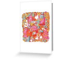 BEEBLEE-DOOP Greeting Card