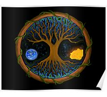 Astral Tree of Life Poster