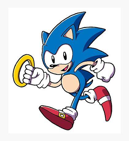 Classic Sonic Photographic Print
