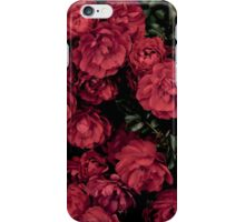 Red Flowers iPhone Case/Skin