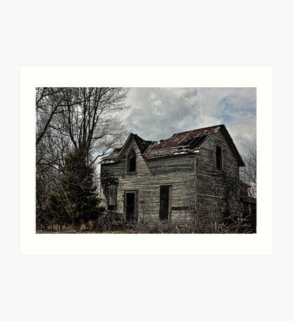 Eerie Abode Art Print