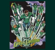 The Green Lantern corps by Booshboosh