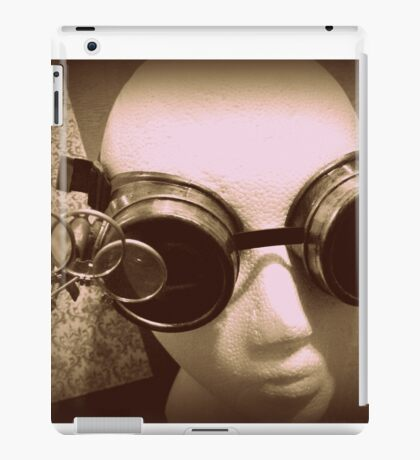 Steampunk Goggles 1.1 iPad Case/Skin