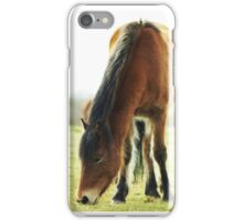 Old Gal in the New Forest  iPhone Case/Skin