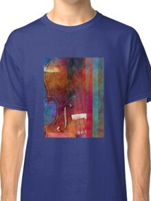 Violin Abstract One Classic T-Shirt