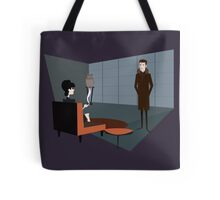 Deckard & Rachael in Retro Future Tote Bag