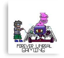 F0rever Unreal Gaming Canvas Print