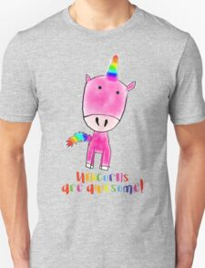Unicorns are awesome Unisex T-Shirt