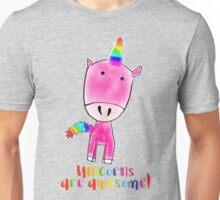 Unicorns are awesome Unisex T-Shirt