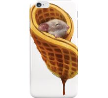 Mouse In A Waffle iPhone Case/Skin