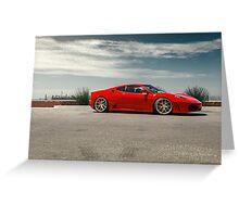 Ferrari F430  Greeting Card