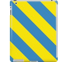 Los Angeles California Yellow and Light Blue Team Colors iPad Case/Skin
