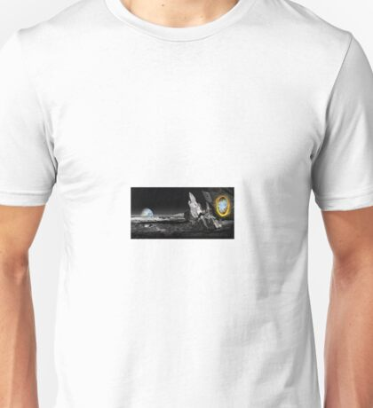 Now you're thinking with portals...in space Unisex T-Shirt