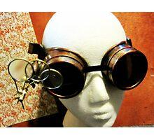 Steampunk Goggles 1.2 Photographic Print