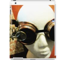 Steampunk Goggles 1.2 iPad Case/Skin
