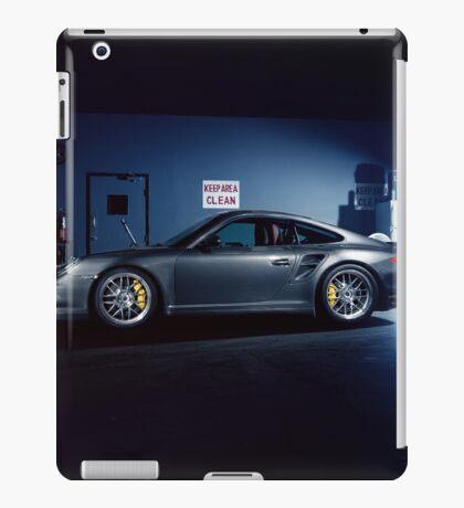 Garage Porsche  iPad Case/Skin