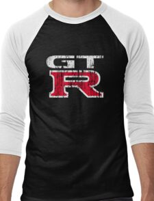 GT-R Grunge 2 Men's Baseball ¾ T-Shirt