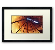 Wake Up in the Tipi Framed Print