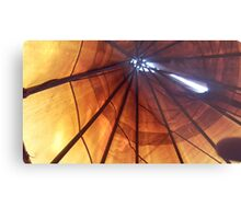 Wake Up in the Tipi Metal Print