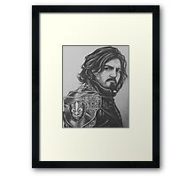 Captain Athos  Framed Print