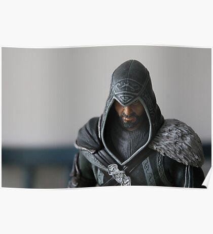 Ezio Auditore Figure Poster