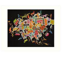 I Am Eurasia  Art Print