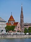 Calvinist Church, Budapest Hungary by Margaret  Hyde