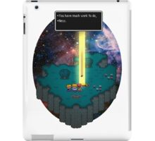 You have much work to do, Ness.. iPad Case/Skin
