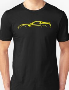 Ferrari 599 GTO Silhouette Unisex T-Shirt