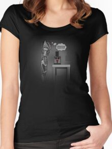 frakking toaster Women's Fitted Scoop T-Shirt