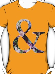 Of mice and men floral pattern T-Shirt