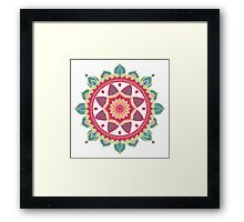 Mandala dream Framed Print