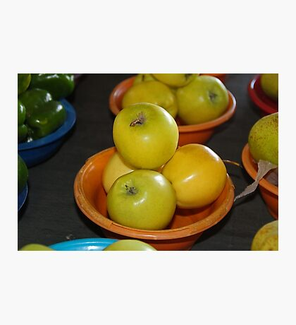 Golden Apples Photographic Print