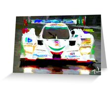 Mazda at Lemans  Greeting Card