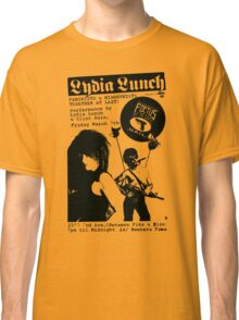 lydia lunch flyer t shirt Classic T-Shirt