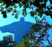Brazil Rio De Janeiro Christ the Redeemer Rear View Sticker