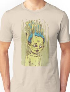 The Golden Boy with Blue Hair Unisex T-Shirt