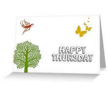 Happy Thursday Greeting Card