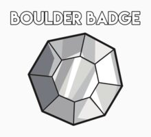 Boulder Badge - Pokemon Baby Tee