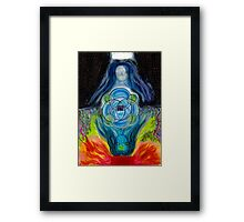Maia, Queen of Cups Framed Print