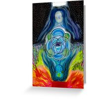Maia, Queen of Cups Greeting Card